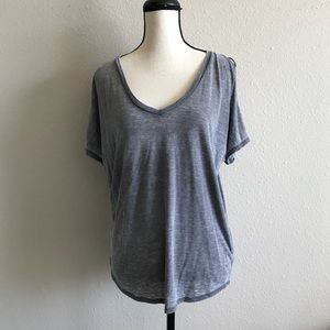 Express Comfy Grey Top - Loose Fit - Size S